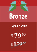 Bronze Plan $80 instead of $159