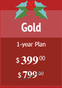 Gold Plan $495 instead of $799