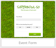 Event Form