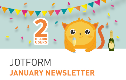JotForm is now 2 million users strong!