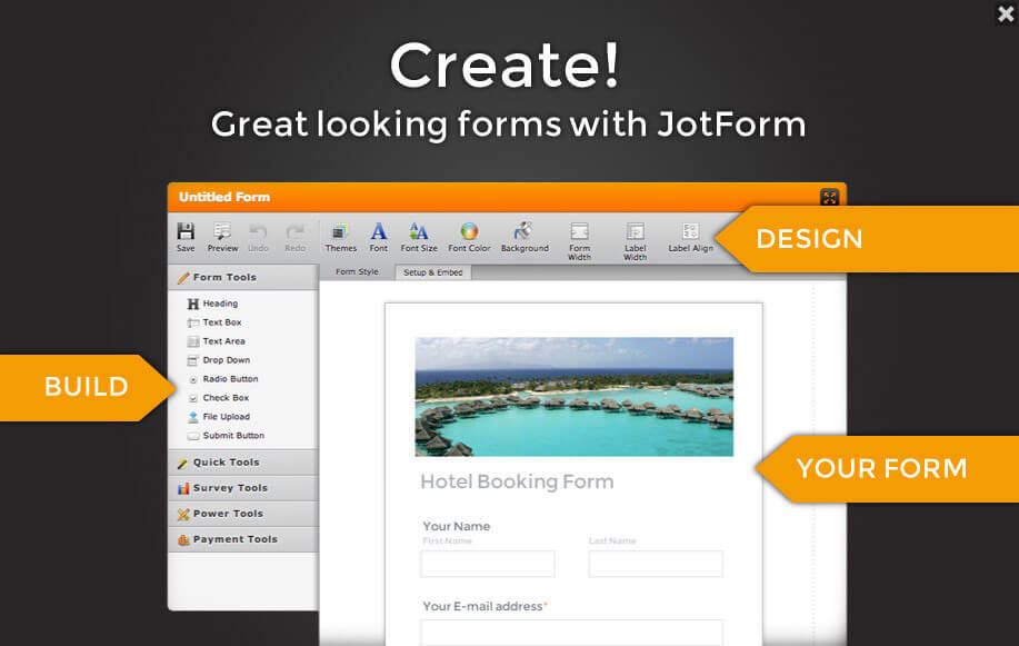 Welcome to the JotForm!