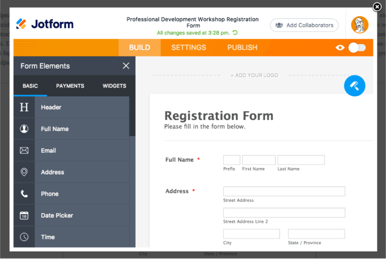 JotForm Anywhere: Embed a Form Builder into Your Website Builder