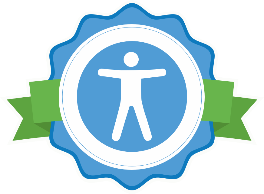 accessibility badge