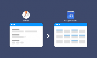 JotForm forms are now compatible with Google Calendar