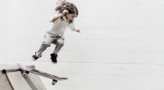 Skating girl