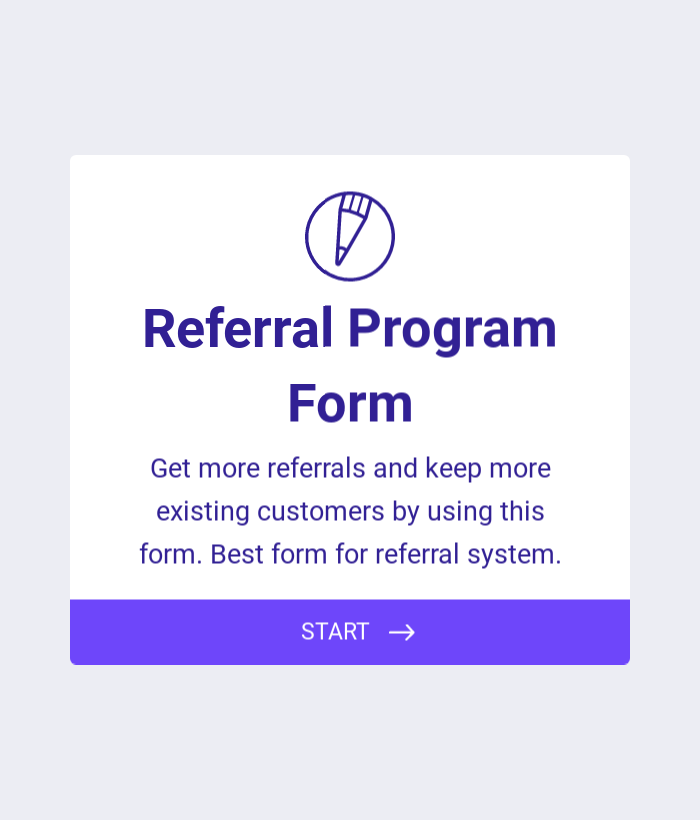 Referral Program Form