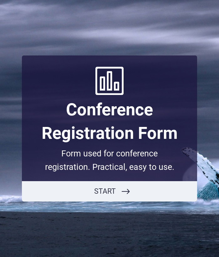 Conference Registration Form with Payment