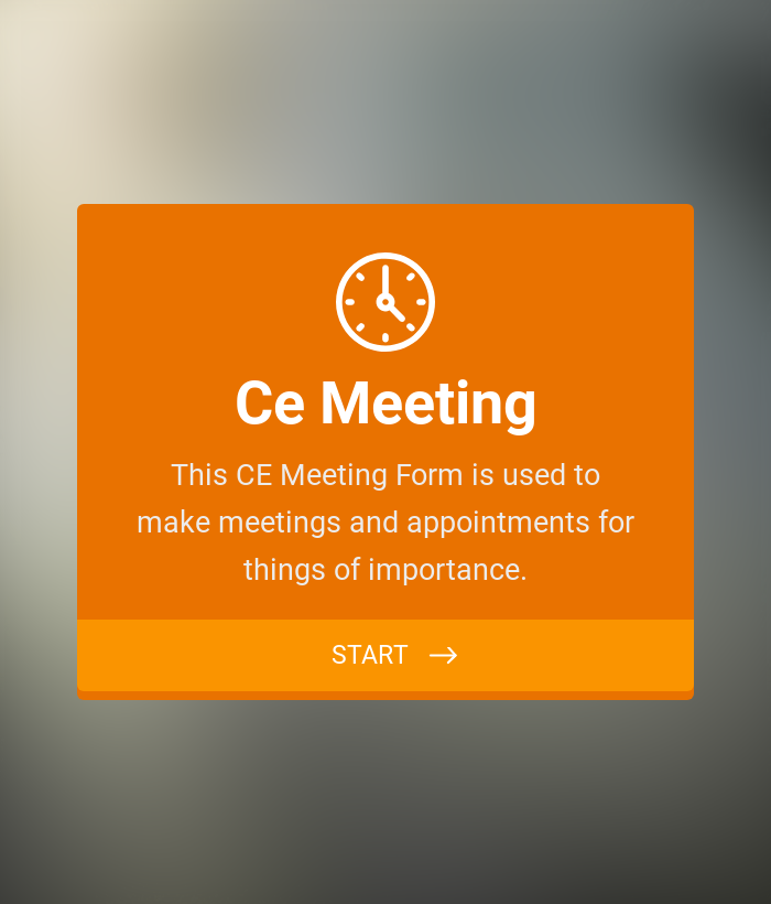 CE Meeting Form