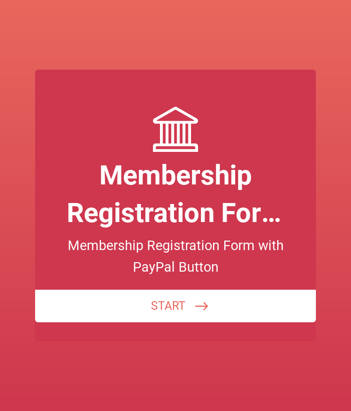 Membership Registration Form - PayPal