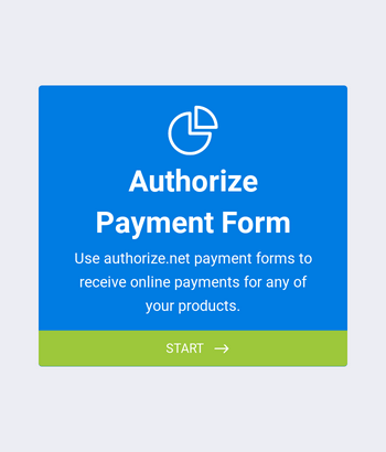 Authorize Payment Form
