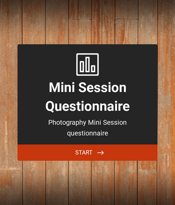 Photography Mini Session Questionnaire