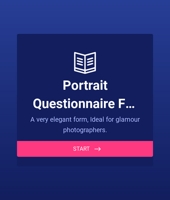 Portrait Questionnaire for women