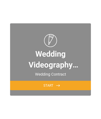 Wedding Videography Agreement