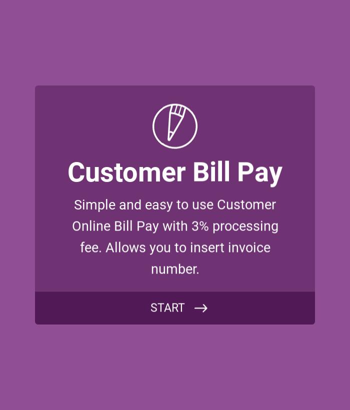 Customer Bill Pay