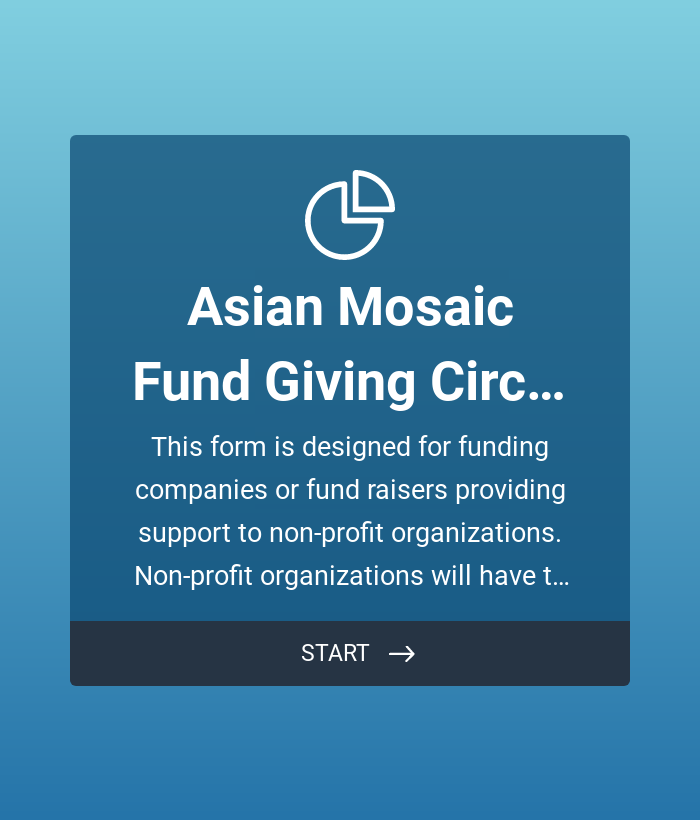 Fund Giving Application Form