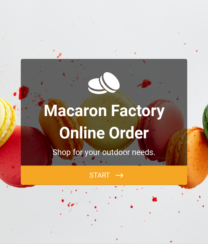 Macaron Factory Online Order - Moneris