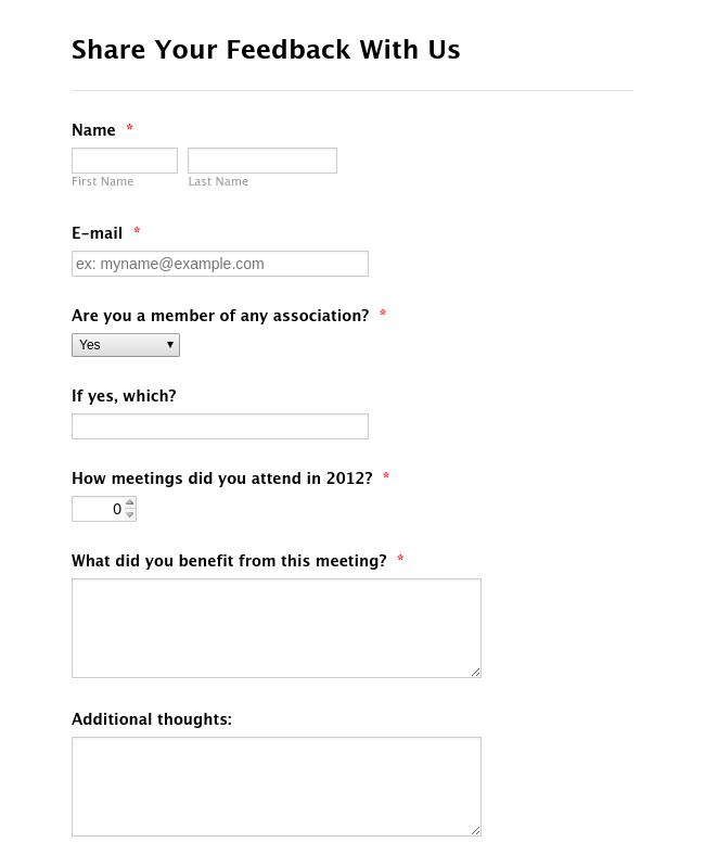 360 degree feedback form sample template.html