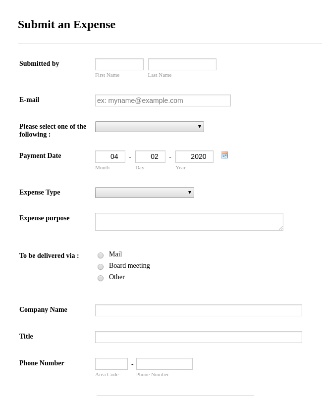 Tracking Forms - Form Templates | JotForm