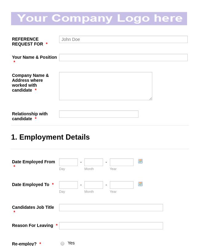 Employment Forms - Form Templates | JotForm