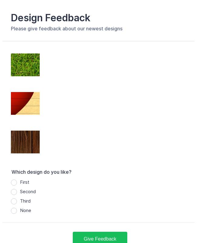 Design Feedback