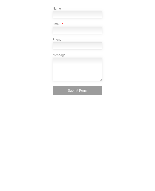Responsive Wordpress Sidebar Contact Form