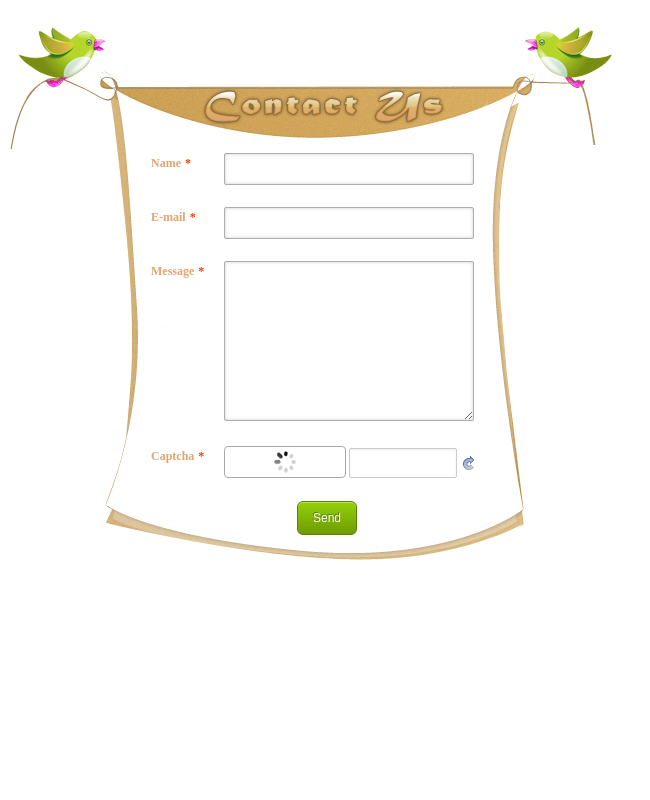 Contact Form With Captcha Customized 8