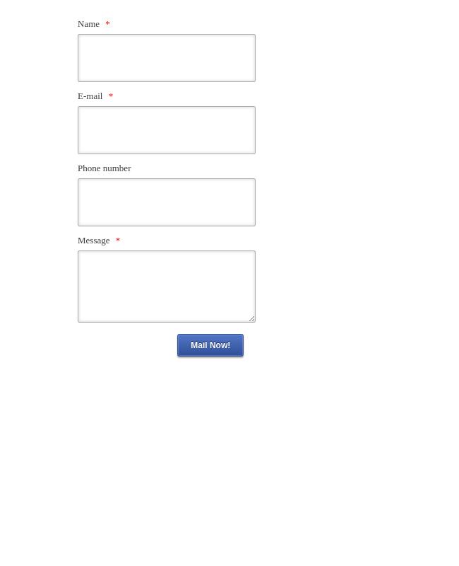 Designer Contact Form