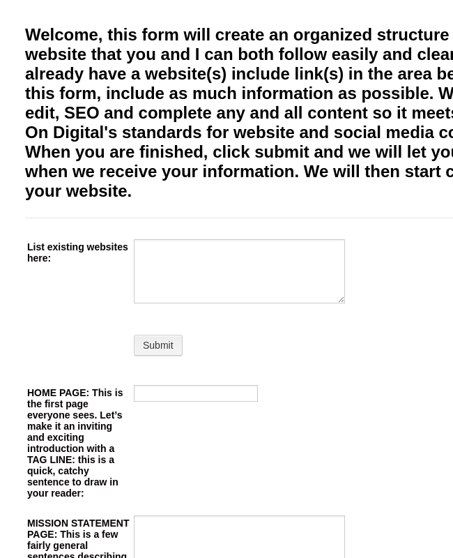 The Online Form 2