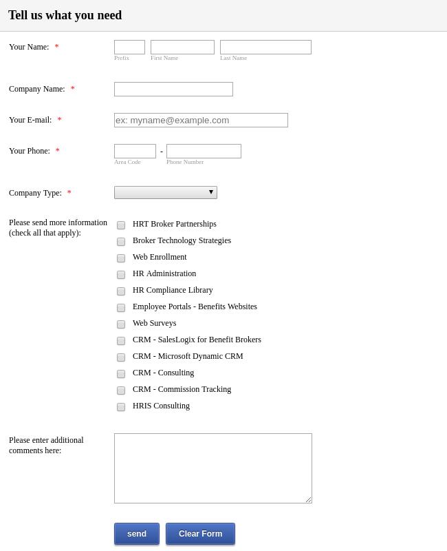 Consultancy Registration Form