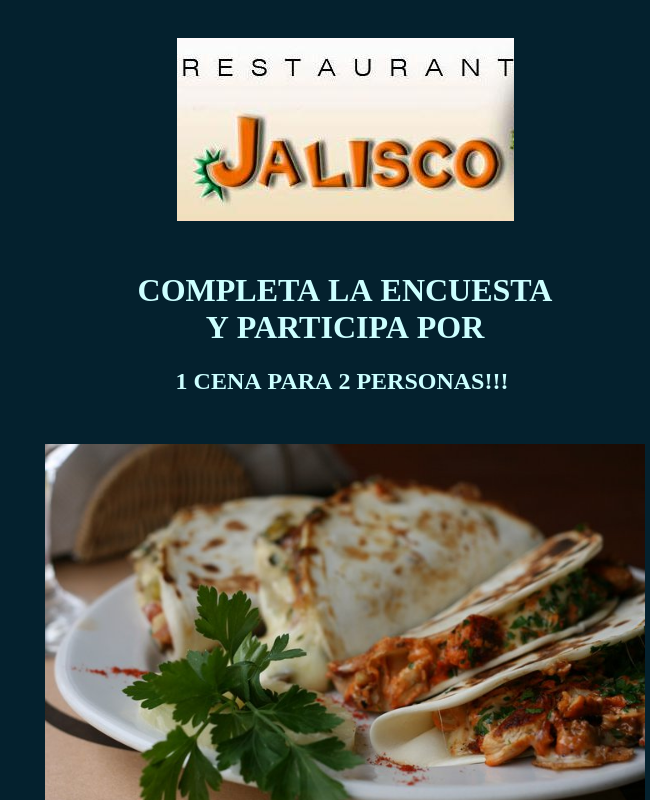 Restaurant Evaluation Survey