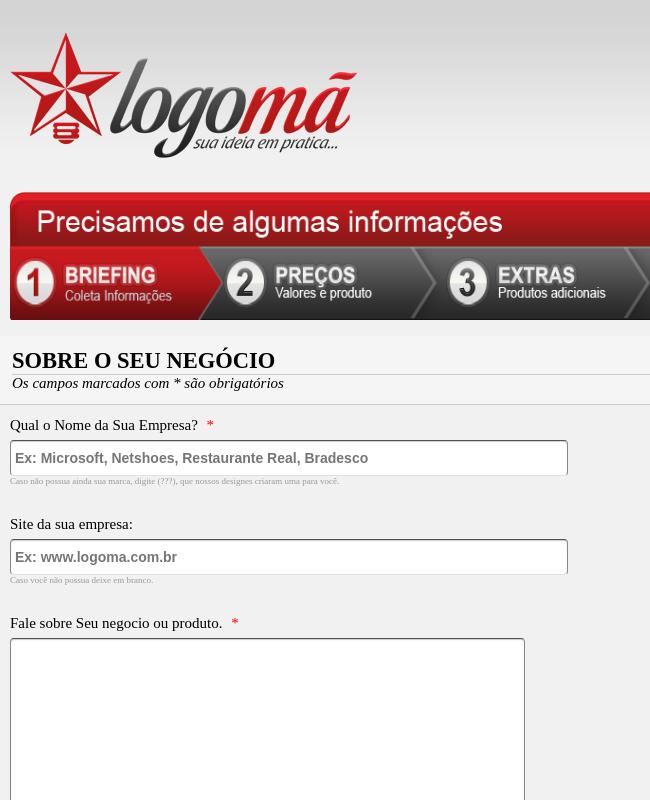 Briefing Logomã
