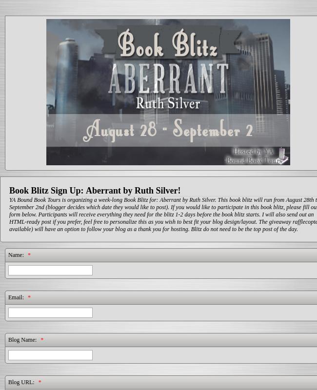 Book Blitz Event
