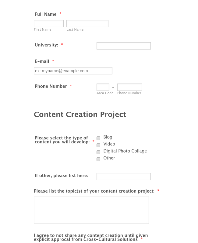 Content Creation 2 Pre-Mission Report