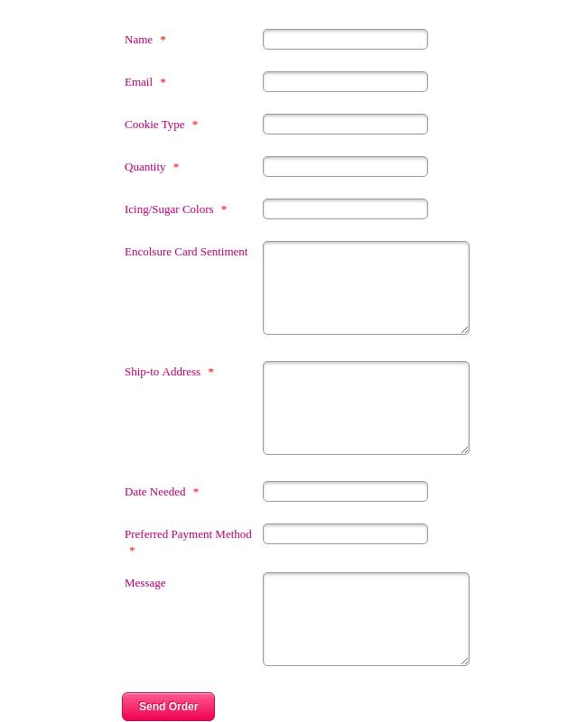 SLConfections Order Form