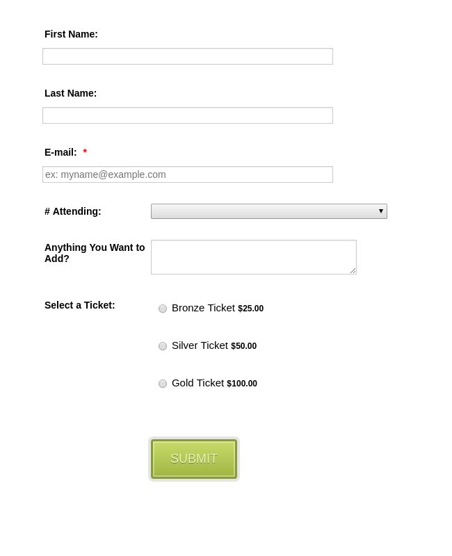 Form Generator | RSVP Form Template | JotForm