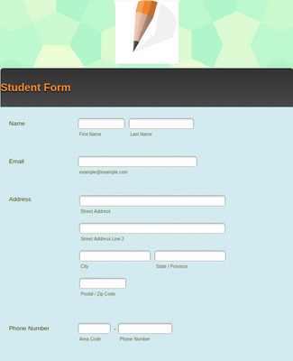 Student Form