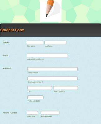 Student Form