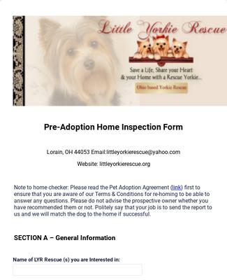 LYR Home Inspection Checklist