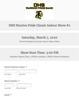 DHS Warrior Pride Classic Indoor Show #2