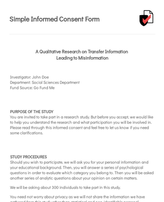 Consent Forms Form Templates Jotform