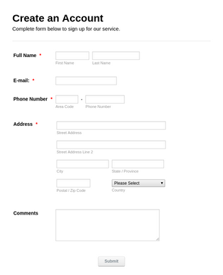 Membership Registration Form