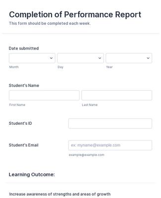 Student Perfomance Evaluation
