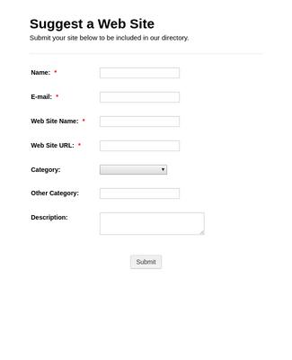 Suggest Website
