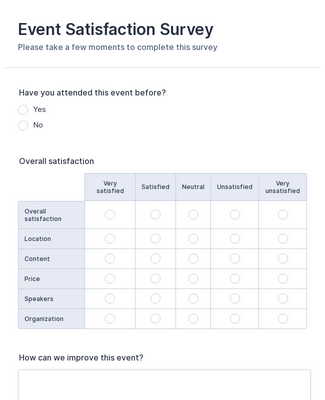 It's just a graphic of Printable Surveys in client satisfaction survey
