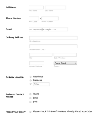 Shipping Quote Form Template Jotform