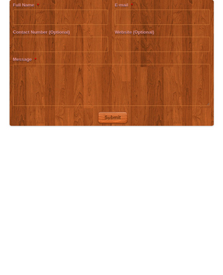 Contact Form with Wooden Theme