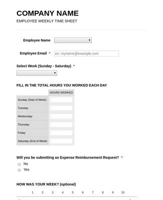 Employee Timesheet and Reporting Tool
