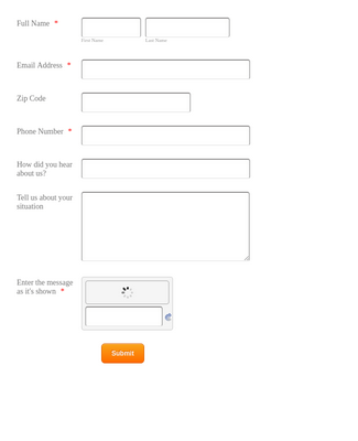 Free Legal Contact Form