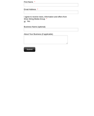 Basic Subscribe Form
