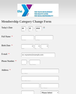 Membership Category Change Form 2